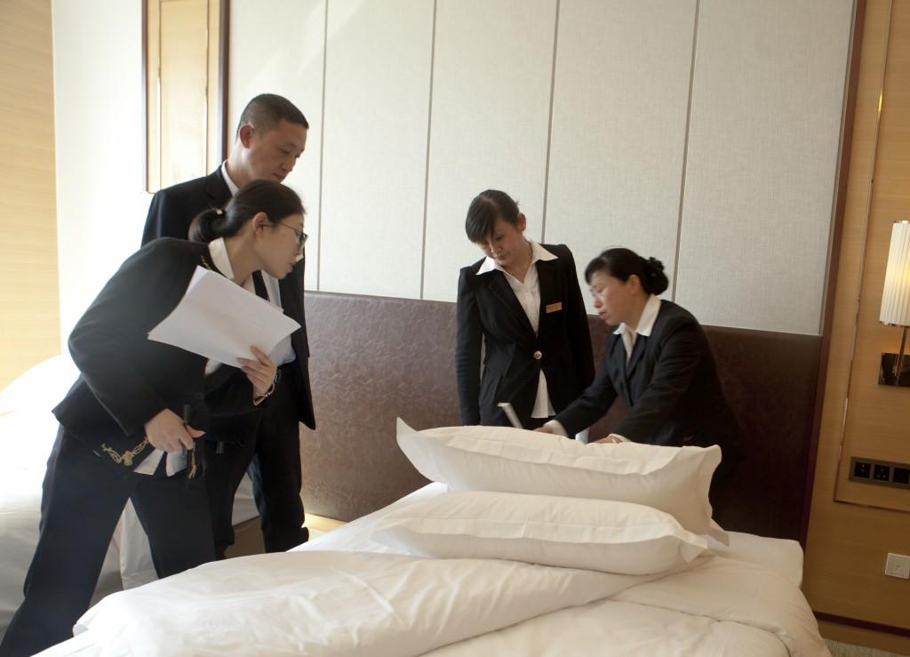 磊达大酒店强化职工技能培训 不断提升服务水平